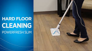 Best Portable Hardwood Floor Vacuum How To Clean Hard Floors With Your Powerfresh Slim Steam Mop Youtube