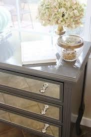 mirrored storage chest foter