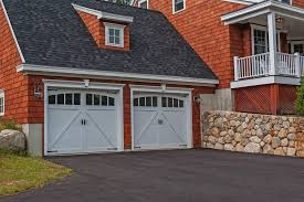 Garage House by Carriage House Overlay Chi Overhead Doors