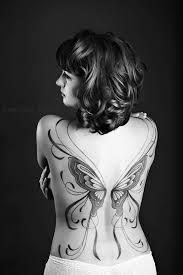 back butterfuly tat tats tatting and