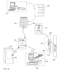 patent ep2549443a2 an off line on line access control system