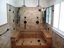 Doorless Shower For Small Bathroom Small Bathroom With Doorless Shower Plans Invisibleinkradio Home