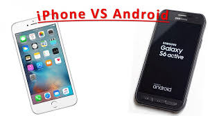 iphones vs androids iphone vs android cellphones different characteristics