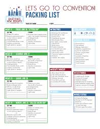 College Packing Checklist Let U0027s Get Packing For Convention To The Point