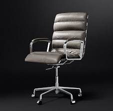 tufted leather desk chair channel tufted leather desk chair