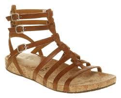 ugg wedge sandals sale uk ugg gladiator sandals mayla leather s shoes