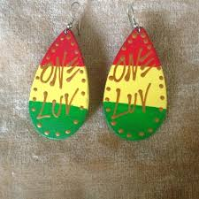 reggae earrings 30 best rasta seed bead images on seed bead