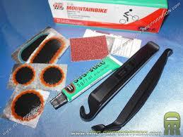 réparer une chambre à air de vélo kit de réparation tip top tt05 mountainbike pour vtt a chambre à