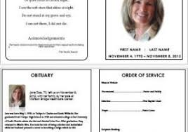 funeral brochure templates free 46 best funeral programs images on