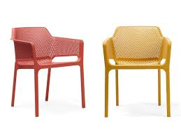 Chaise D Ext Rieur Chaise Empilable Colorée D Extérieur