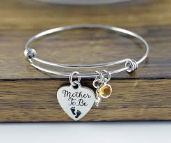 gifts for mothers to be to be to be gift bangle charm bracelet gifts for