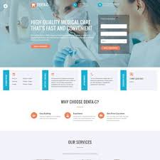 7 of the best bootstrap website templates for dentists u0026 dental