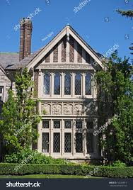 stone tudor house home design