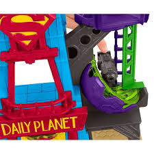 imaginext dc super friends super hero flight city walmart com