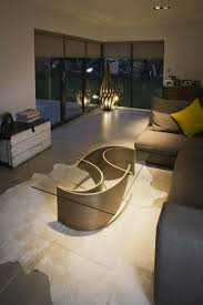 Elegant Coffee Tables by Elegant Coffee Table With Wave Shaped Base U2013 Wave Coffee Table