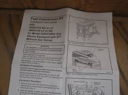 vermont casting oxford gas stove conversion kit natural gas to