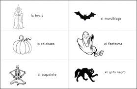 free worksheets spanish halloween worksheets free math