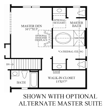 Dual Master Suites Liseter The Bryn Mawr Collection The Chelsea Home Design