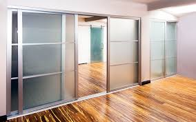tempered glass closet doors frameless doors sliding glass doors room dividers los