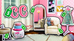 the sims 4 cc shopping home decor youtube