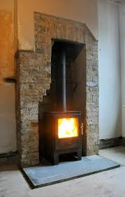 like logs ltd solid fuel stove installation in east london