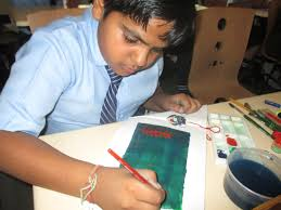 Flag Making Activity Vatsalya International