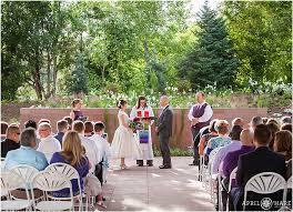 Weddings In Colorado Denver Botanic Gardens Wedding All America Selections Garden In