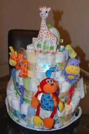 giraffe 3 tier cake