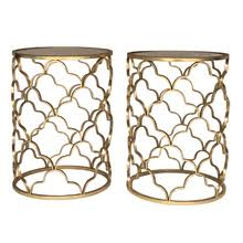 Quatrefoil Side Table Collection Tables Side Tables Bowery Bash
