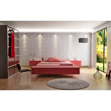 Red Feature Wall In Bedroom Rsmacal Page 8 Home Interior Room Divider Idea With 3d Wall