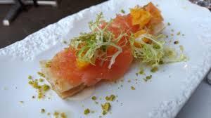barcelona canapé canapé de salmón marinado picture of dos torres barcelona