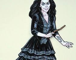 Bellatrix Halloween Costume Bellatrix Lestrange Etsy