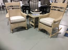 3 piece nantucket porch rocker set by lloyd flanders best fire