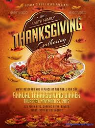 thanksgiving luncheon flyer templates happy thanksgiving