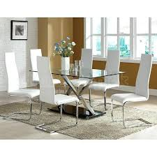 modern dining room set white modern dining room sets view in gallery all minimal sizzles