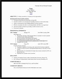 Examples Of Resume Skills List by Resume Examples For Customer Service Skills Free Resume Example