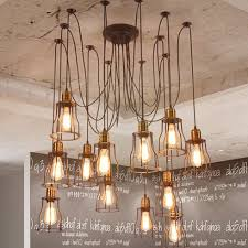 How To Make Chandelier At Home Pendant Lights Beautiful Diy Industrial Chandelier Home Decor