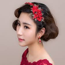 popular bridal floral hair ornament buy cheap bridal floral hair