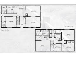 4 bed floor plans jefferson iii two story modular home 2 800 sf 4 bed 2 1 2 bath