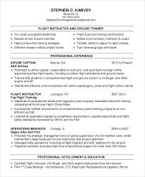 Sample Of Flight Attendant Resume by Sample Flight Attendant Resume 6 Examples In Pdf Word
