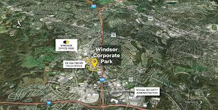 Windsor Usa Map by Windsor Corporate Park Windsor Mill Md Flex Space St John