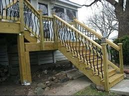Deck Stairs Design Ideas Deck Railing Ideas Deck Stair Railing Ideas For Stairs With Regard