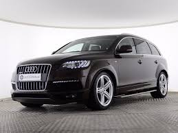 audi wagon black used audi q7 3 0 tdi s line plus station wagon tiptronic quattro