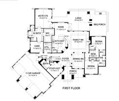 2 Bedroom Ranch Floor Plans by Houseplans Com Bungalow Craftsman Main Floor Plan Plan 120 172