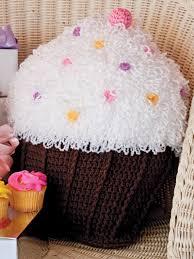 crochet for the home crochet decor patterns cupcake pillow
