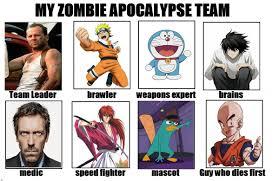 Zombie Team Meme - my zombie apocalipse team meme by maiwey on deviantart