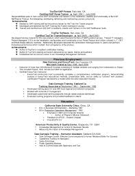 Mission Statement Examples For Resume by Leland Bartlett Resume