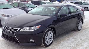 lexus used cars victoria 2014 lexus es 350 leather and navigation package review in black
