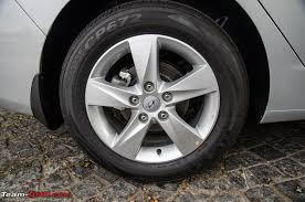 tire size for hyundai elantra driven 5th hyundai elantra team bhp