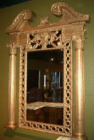 Empire Style Interior French Empire Style Giltwood Mirror